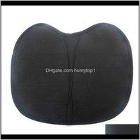 Barato negro impermeable acolchado de la almohada antideslizante Cojín de pesca portátil Cojín de pesca KAYAK Accesorios de asiento desmontable al aire libre Universal Ryb79 R PTE8U