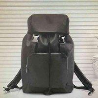 الجملة زاك حقيبة الظهر جلد الرجال حقائب السفر حقائب الأزياء الكلاسيكية رجل سعة كبيرة تسلق الجبال الرياضة hsp حقيبة N40005