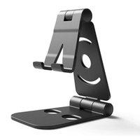 الهاتف الخليوي يتصاعد حاملي طوي حامل حامل مكتب حامل مهد للصغيرة الهواتف الذكية الكبيرة LFX-ING