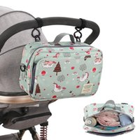 Diaper Bags PatPat Cartoon Baby Stroller Bag Large Capacity Outdoor Hanging Carriage Mommy