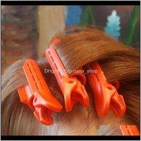 Werkzeuge Produkte Drop Lieferung 2021 Magic Care Walzen Wurzeln Natürliche Flauschige Clip Sleeping Kein Wärme Kunststoff Curler Twist Hair Styling DIY Werkzeug