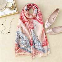 Steedの街同じ女性の春と夏の印刷の装飾の長いギフト新しいビーチスカーフ