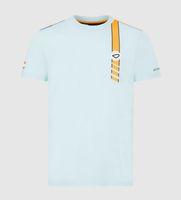F1 Formula One Racing Costume 2021 Fans Series Racing Costume à manches courtes T-shirt Tee-shirt Tee-shirt Personnalisé Casual Rond T-shirt à séchage rapide