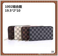 """lv""""LOUIS""""VITTONBAG""""VITTON Luxurys Designers Men Women Leather Single Zipper Wallet Ladies Long Purse Coin Card Bag"""