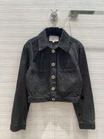 Casacos de pista de milão 2021 pescoço de lapela manga comprida feminina casacos designer casacos marcas mesmas casacos de estilo 0515-2