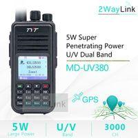 GPS-кабель Дополнительные TYT MD-UV380 Digital Walkie Talkie Dual Band UHF HF UPGRADE MD-390 DM-5R DM-8HX Baofeng 5W DMR Radio MD-380