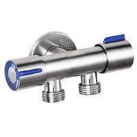Banyo Lavabo Bataryaları Musluk Çift Kolu Çift Kontrol Meme Tek Soğuk Püskürtme Tabancası Paslanmaz Çelik Tuvalet1