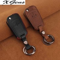 Leather keychain Car Key Cover Case For Chevrolet Cruze Epica Lova For OPEL VAUXHALL Astra H Insignia J Vectra C Corsa