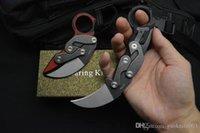 Neue 2019 Caswell Morphing Mechanische taktische Messer Karambit 14C28N Black Stone Wash Blade G10 Griff EDC Pocket Messer Weihnachtsgeschenk C81 BM42