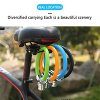 Bike Locks Bicycle Lock Anti-theft Cable MTB Road Portable Safety Ring Motorcycle Helmet Padlock Accessories