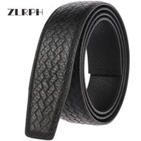 Cinturones ZLRPH Marca de alta calidad Cuero de vacuno de doble cara de lujo Cinturón de hebilla automática de hombres de negocios negro 3.5cm gzyy-ly35-3588