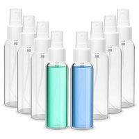 Fine Mist Spray Bottles 60ml 2oz Empty Refillable Travel Sprayer Containers Plastic Bottle for Cosmetic Makeup and Cleaning