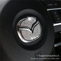 Per Mazda CX-4 ATZ Multimedia Central Control Decorative Cover Switch Volume Aria condizionata Manopola Cambiamento Anello