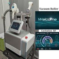 Cuerpo portátil que forma el vacío RF Máquina de la cavitación de la liposucción ultrasónica del sistema de eliminación de la celulitis cintura para adelgazar la reducción del vientre