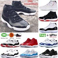Высокое качество 25-я годовщина баскетбольная обувь низкий legend blue concord bred space jam platinum tint мужчины женщины кроссовки Heiress бег тренеры