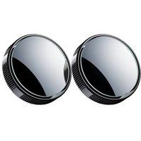 자동차 후면보기는 작은 둥근 거울을 뒤집어 블라인드 스팟 360도 무한 유리 고화질 반사