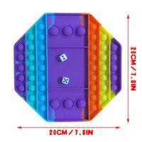 Big Game Fidge Toy Rainbow шахматная доска Pushble Fidget сенсорные игрушки для родительской детской интерактивной игры игрушка