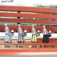 Original SOC Enail Kit 2600mAh Wax Concentrate Shatter Budder Dab Rig Kit With 4 Heat Settings Glass Vaporizer Vape Kit