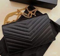 2021 امرأة حقيبة يد محفظة جلد طبيعي جودة عالية المرأة رسول الصليب الجسم سلسلة مخلب حقائب الكتف المحفظة توصيل مجاني