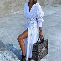 Kadınlar için Yüzme Takım Elbise Kapak Sun Beach Elbiseler ve Tunik Artı Boyutu Kaftan Ups Mayo Cape Salidas Yaz Polyester Kadınlar