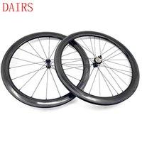 Roues à vélo Roues de carbone 700C CLINCHER 50mm AC3 Côté de frein de 25mm Largeur R36 Céramiques 1510g 1432 Roue de rayon