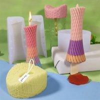 Craft Tools Ice Cream Silicone Mold DIY Small Waist Popsicle Bird's Nest Cylindrical Candle Candke Making Kit Fondant Cake