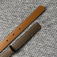 Belts High Quality Genuine Leather Classic Belt Luxury Designer Women For Dress