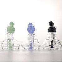"""Cookahs 4 """"DAB RUG Mini стеклянные водяные бонги Установочные буровые установки Маленькая масляная лампа очень милая шиша"""