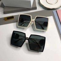 Óculos de sol fêmea grande quadro quadrado óculos de sol óculos verão tendência dirigir rua dirigindo óculos de sol