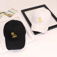 Hat versatile Hat summer tide couple baseball cap female leisure sun hat owl embroidered