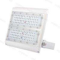 LED 투광 조명 100W SMD3030 112LEDS IP67 방수 AC100-305V 140LM / W 울트라 얇은 알루미늄 터널 광고 DHL
