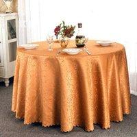 가정 용품 식탁보 테이블 커버 휠 연회 결혼식 장식 테이블 새틴 패브릭 테이블 의류 홈 섬유 결혼식 식탁보