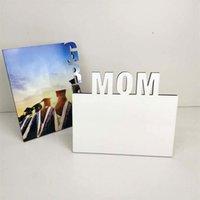 Anne Termal Transferi Fotoğraf Plakası Anneler Günü Babalar Günü Süblimasyon Baskı Albümü Fotoğraf Çerçevesi Glass Resimleri Süslemeleri EEB6561