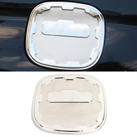 Car Accessories Stainless Steel Fuel Oil Gas Tank Cap Trim Cover Frame Sticker Exterior Decoration for Honda CR-V 5th 2017-2020