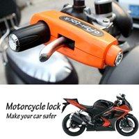 Evrensel Motosiklet Scooter Gidon Emniyet Fren Gaz Kavrama Anti Hırsızlık Koruma Güvenlik Kilitleri Yüksek Kalite