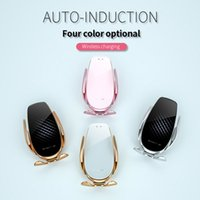 V3 Car Air Vent Wireless Charger 15W Quick Charge Qi Infrared Sensor Phone Holder Accessories Auto-sensing Universal Car Phone Holder
