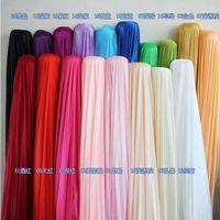 Silk fabric wedding backdrop curtain Width 150CM 59inch Satin Fabric Decoration Solid Color Cloth Performance Clothing Fabrics dsf0532