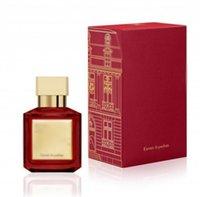 70ml Maison Francis Kurkdjian Mulheres Perfume Fragrância Baccarat Rouge 540 Floral Eau de Mulher Luxo Luxo Perfum Spray YL0317