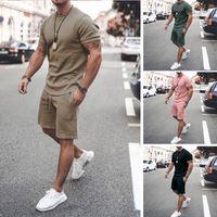 2021ss Mens Beach Designers Tracksuits Летние Костюмы Мода футболка Приморские Праздники Шорты Шорты Наборы Мужской S Роскошные Повседневные Спортивные Настройки Спортивная одежда M-3XL