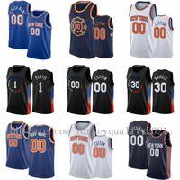사용자 정의 Julius 30 Randle Basketball Jersey Obi 1 Toppin RJ 9 Barrett Mitchell 23 Robinson Derrick New Yorkknicksmens Rose Immanuel 5 Quickley Elfrid 6 Payton