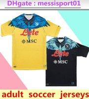 21 22 Napoli Soccer Jersey SSC Nápoles Shirts Special-Edition 2022 Maillot de pé Camiseta Fútbol Insigne Lozano Osimhen Mertens Camisa