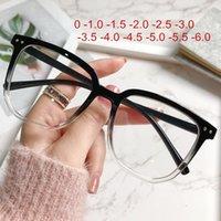 Sunglasses Anti-Blue Light Myopia Glasses Women Men Optical Prescription Eyeglasses Nearsighted Finished -1.0 -1.5 -2.0 -2.5 -3.0 To -6.0
