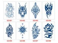 39 styles de jus mixte autocollant de tatouage semi-permanent imperméable look réaliste qui s'estompe naturellement à base d'encre à base de plantes WGZ