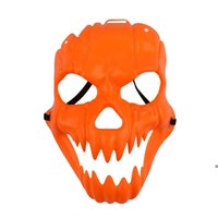 Halloween Cosplay Pumpkin Mask Horror Ghost Head Costume Skull Masks Party Festival Supplies LLA8651