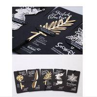 Снежинка перо металлический полый лотос листьев закладки креативные книги бумажные клипы канцтовары детские подарочные школьные офисные принадлежности
