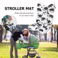 Stroller Parts & Accessories 3D Baby Thicken Pad Cartoon Animal Print Car Safety Seat Cushion Cotton Splicing Trolley Chair Mat