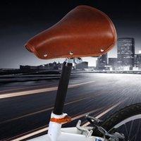دراجة السرج مع كامل بو الجلود دراجة مقعد التنقل تعليق أجزاء الدراجات الطريق إمدادات السروج