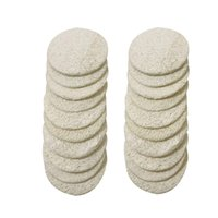 200pcs Natural Loofah Facial Pads 8*8cm Loofah- Disc Makeup R...