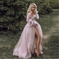 Dusty Pink Long Prom Dresses 2021 Off the Shoulder Sweetheart Tulle Romantic Elegant Princess Prom Party Gown Custom