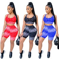Womens vest Tracksuits Summer two piece set Shorts outfits sleeveless sportswear jogging sportsuit shirt pants suits sweatshirt sport suit selling klw6599